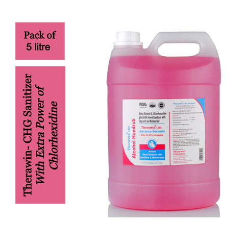 Therawin CHG Hand Sanitizer 5 Litre